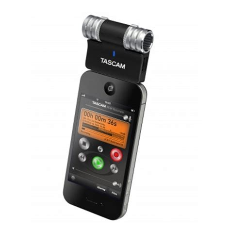 microphone for iphone tascam im2 stereo condenser microphone for iphone at