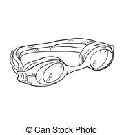 swim goggles clipart black and white underwater swimming illustrations and clip 13 988