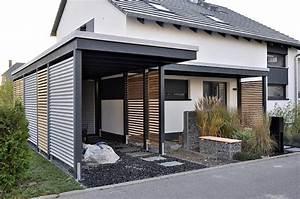 Carport Im Vorgarten : abri de voiture en bois 18 id es diy pour abriter son v hicule ~ Markanthonyermac.com Haus und Dekorationen