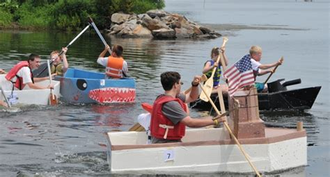 Best Cardboard Boat Names by Which Cardboard Boat Will Be Titanic Potomac Local