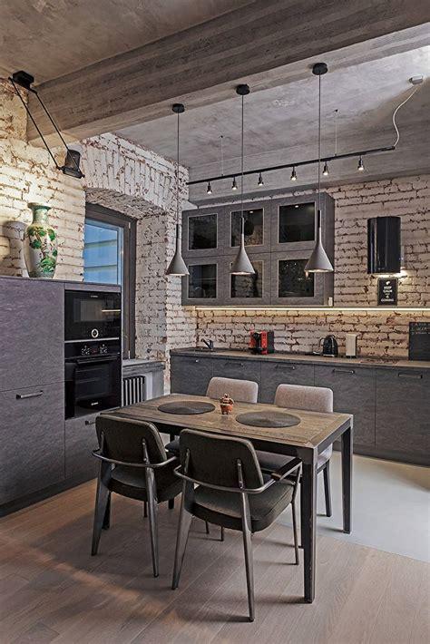 loft kitchen design дизайн кухни 13 кв м 70 фото интерьеров идеи для ремонта 3839