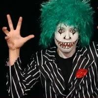 schminken clown vorlage gruselfabrik de der horror 187 schminkvorlagen