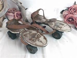 Patin A Roulette Vintage : anciens patins roulettes le grenier de lisette ~ Dailycaller-alerts.com Idées de Décoration