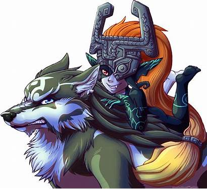Zelda Midna Wolf Link Legend Oc Princess