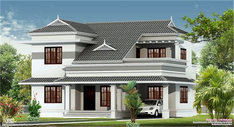 Villa Home Plans by New Villa Design In 2250 Sq Kerala Home Design And