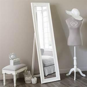 miroir psyche blanc h 164 cm enzo maisons du monde With psyche maison du monde