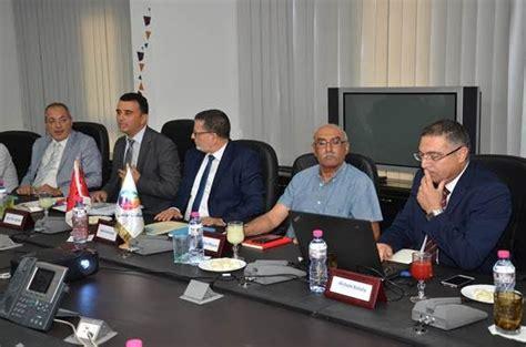 siege tunisie telecom une d 233 l 233 gation de la ville de suresnes re 231 ue au si 232 ge de
