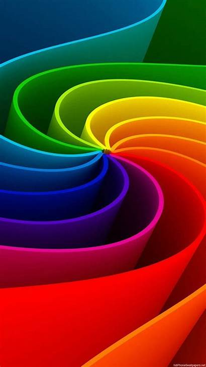 3d Colorful Iphone Wallpapers Rainbow Plus Colorfull