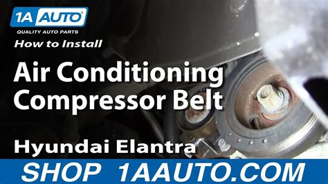 How Install Replace The Air Conditioning Compressor