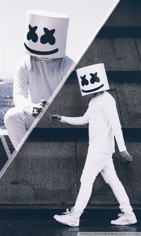 marshmello ultra hd desktop background wallpaper