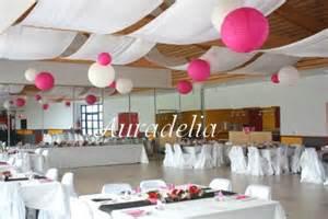 deco plafond mariage décoration de la salle préparation mariage fred