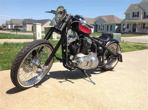 Custom Built Harley Davidson Sportster Bobber For Sale On