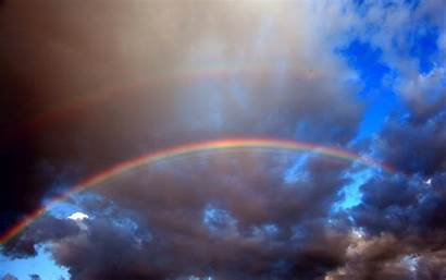 Rainbow Rainbows Echo Skyscapes Wallpapers Mac Allwallpaper