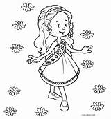 Coloring Scout Printable Cool2bkids Scouts Daisy sketch template