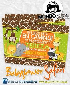 Invitaciónes para baby shower de animales para imprimir Imagui