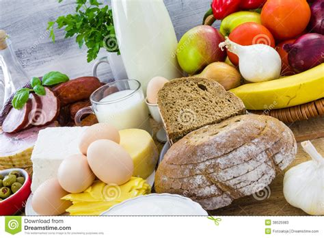 cuisine stock miscellaneous food dairy products bread stock photos
