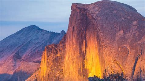 Nature Landscape Mountains Birds Eye View Yosemite