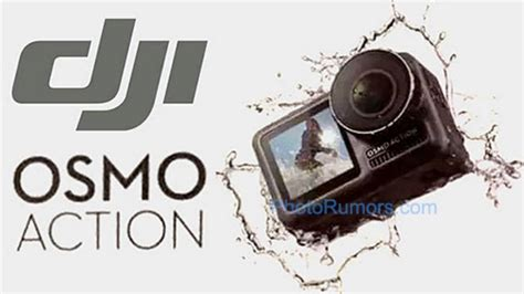 leaked dji osmo action cam specs