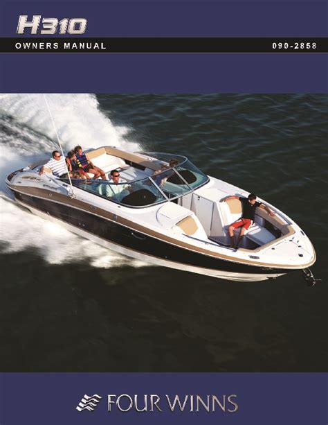 Four Winns Boat Owners Manual 2011 four winns h310 boat owners manual
