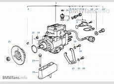 Pompe d'injection diesel BMW 5' E39 525tds M51 l'Europe