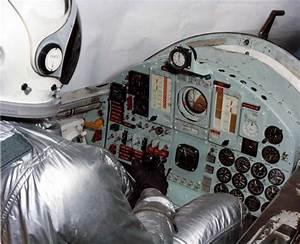 X-15 cockpit and pilot