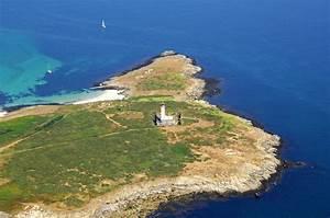 Penfret Lighthouse In Trevignon Brittany France