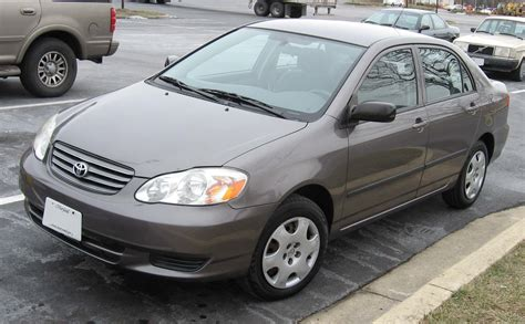 Toyota Car : 2003 Toyota Corolla Engine, Recalls, Review