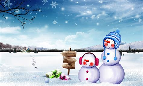 snowman wallpaper  gallery