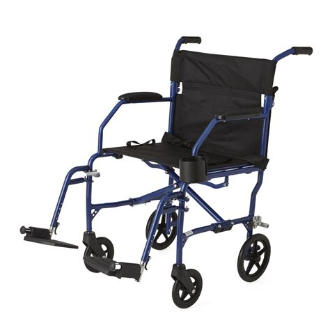 medline transport chair carry bag medline ultralight transport chair blue
