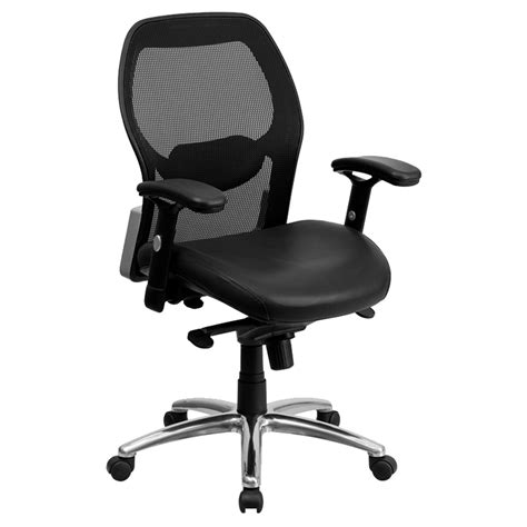 executive office chair mid back knee tilt