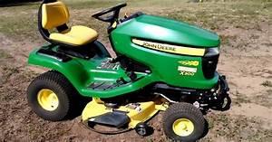 John Deere X300 X304 X320 X324 X340 X360 Lawn Tractor