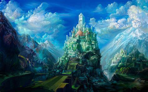 wallpapers fantasy art scenery wallpapers