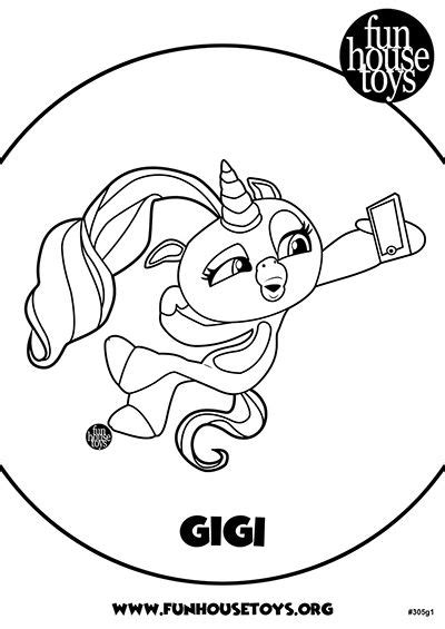 lil pearl diva  leading baby lol surprise coloring page