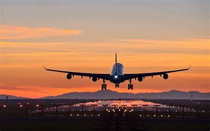 Airplane Landing Airport Travel Airlines Fly Arrive