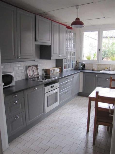 et cuisine home cuisine grise ikea images et enchanteur cuisine grise