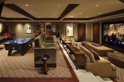 Luxury Media Room Game Room Landry Design Group, Inc