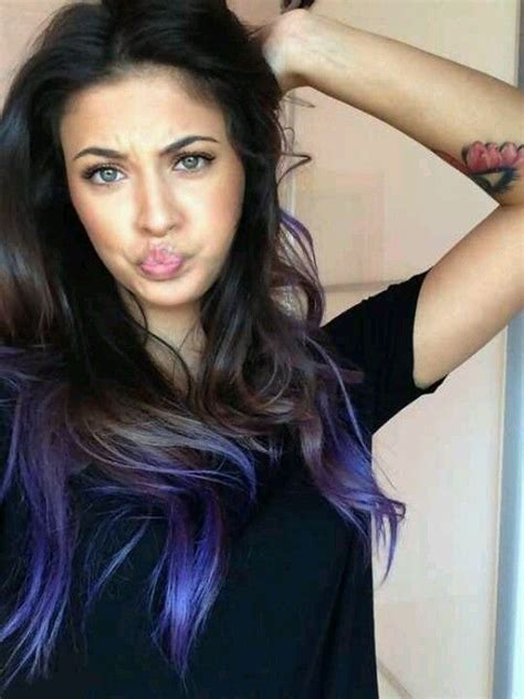 25 Best Ideas About Purple Tips On Pinterest Dyed Tips