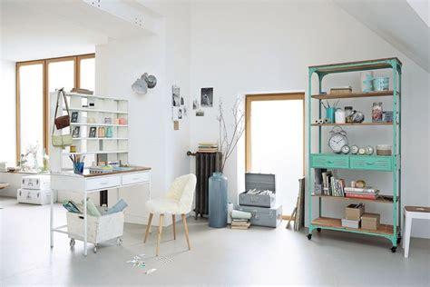 deco bureau maison un bureau dans le salon aventure déco