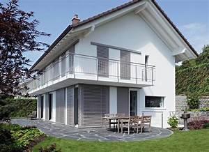 maison blanche volets gris coulissants volet pinterest With maison grise et blanche