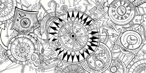 Trippy Alice In Wonderland Coloring Pages Kids