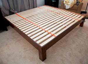 This DIY platform enough support for latex bed? - The