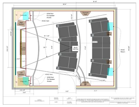 Photo Of Home Theater Floor Plan Ideas by An Overview Of A Home Theater Design Interior Design