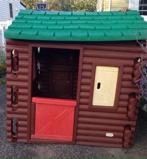 tikes log cabin playhouse 25 best ideas about tikes log cabin on