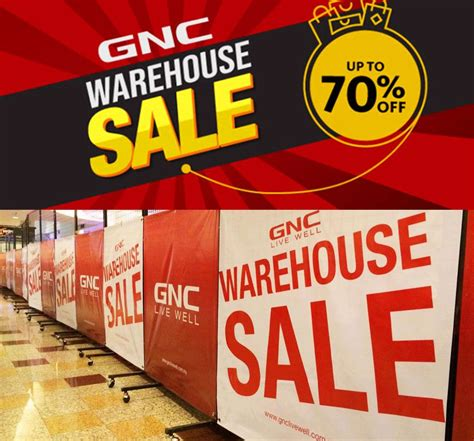 Check out all products available on our clearance page. 30 Oct-4 Nov 2018: GNC LiveWell Warehouse Sale Clearance ...