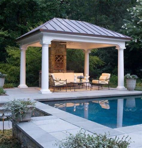 Square Gazebo by Square Gazebo Plans Backyard Structures Pool Gazebo
