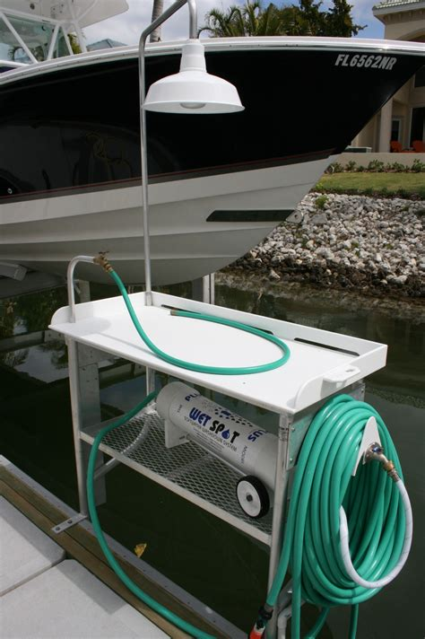 aluminum fish cleaning table how to clean aluminum how to clean aluminum table