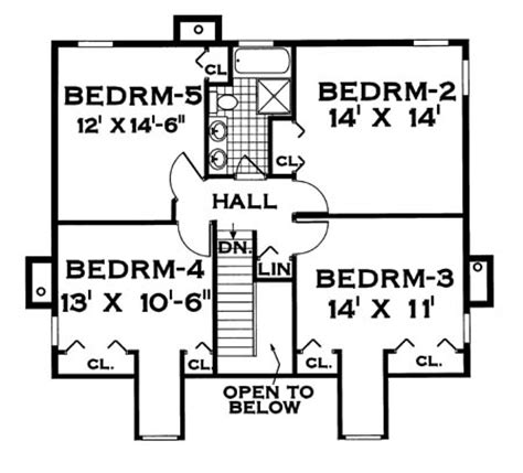 Home Plans For Large Families by For A Large Family 7004 5 Bedrooms And 2 Baths