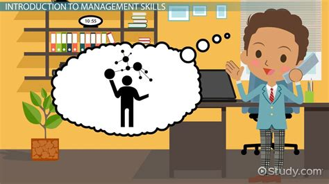 management skills definition examples video lesson