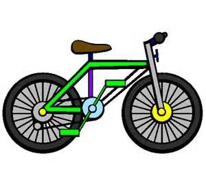 Disegno bicicletta colorato da utente non registrato il
