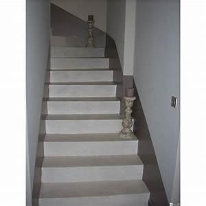 beton cire sur escalier kit pour carrelage harmony beton With escalier carrelage